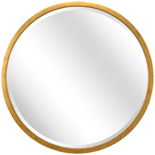 Chelsea House Large Round Gold Mirror 382449
