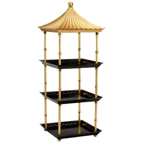 Chelsea House Pagoda Shelf - LOVECUP