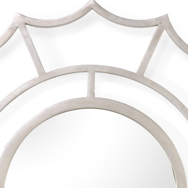 Chelsea House Devonshire Mirror Silver 382774 - LOVECUP