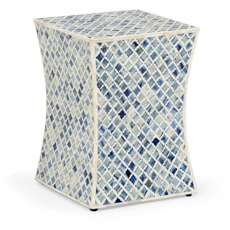 Lovecup Bristol Side Table in Blue - LOVECUP