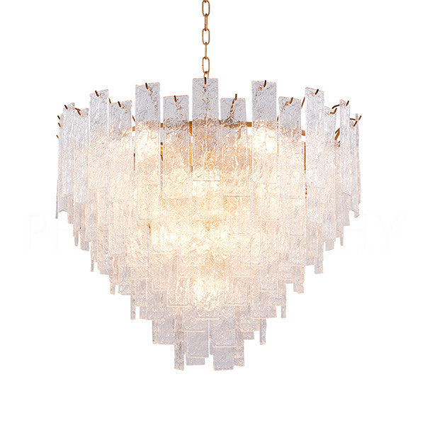 Aidan Gray Glacier Bay Large Chandelier L642L