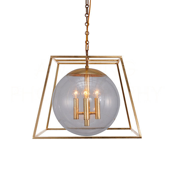 Aidan Gray Lincoln Gold Chandelier L909