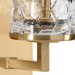 Chelsea House Casey Double Sconce - Brass 69121