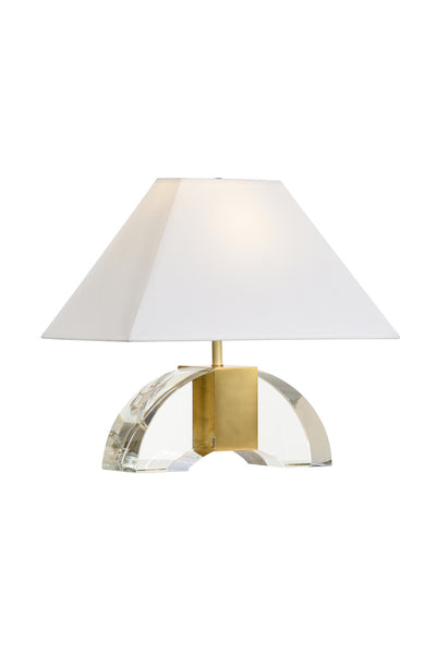Matthew Frederick Chess Court Table Lamp - Crystal 65706