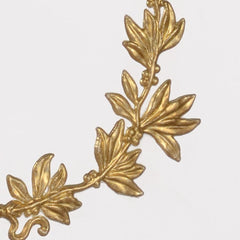 Chelsea House Gold Laurel Wreath Table Lamp 69365 - LOVECUP