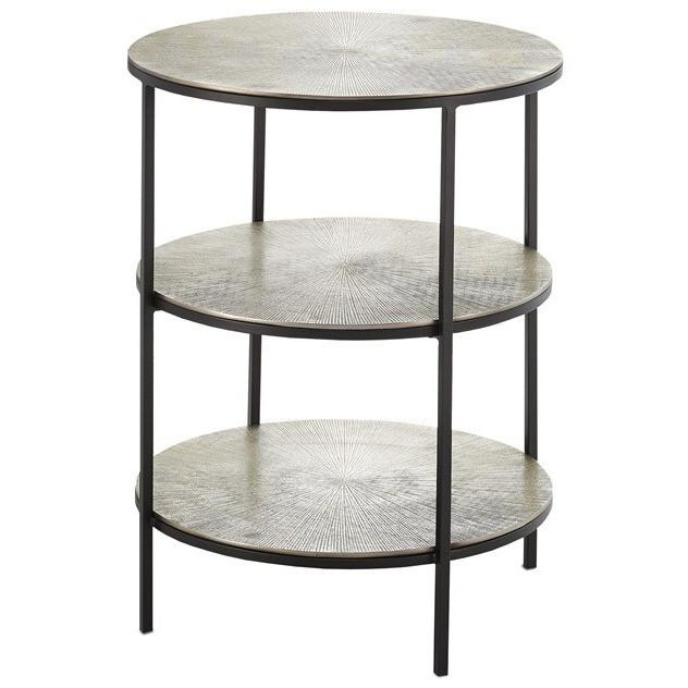 Currey and Company Cane Accent Table 4000-0013 - LOVECUP - 1