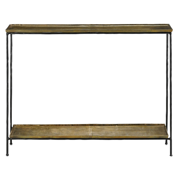 Currey and Company Boyles Console Table 4000-0023