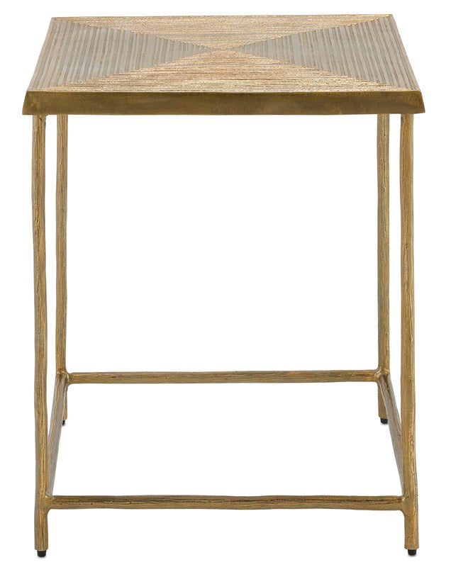 Currey and Company Piazza Accent Table 4000-0100