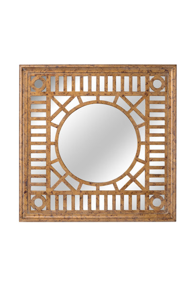 Chelsea House Fret Mirror - Gold 384493