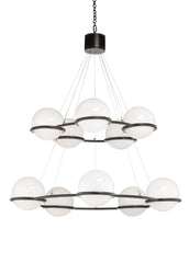 Matthew Frederick Cobb's Court Chandelier - Black 65730