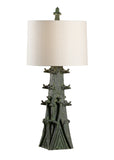 Wildwood Summit Lamp - Verde 23353