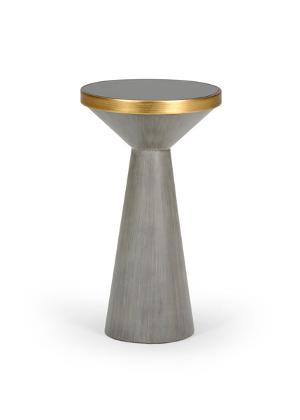 Chelsea House N Y Drink Table - Gray 383927