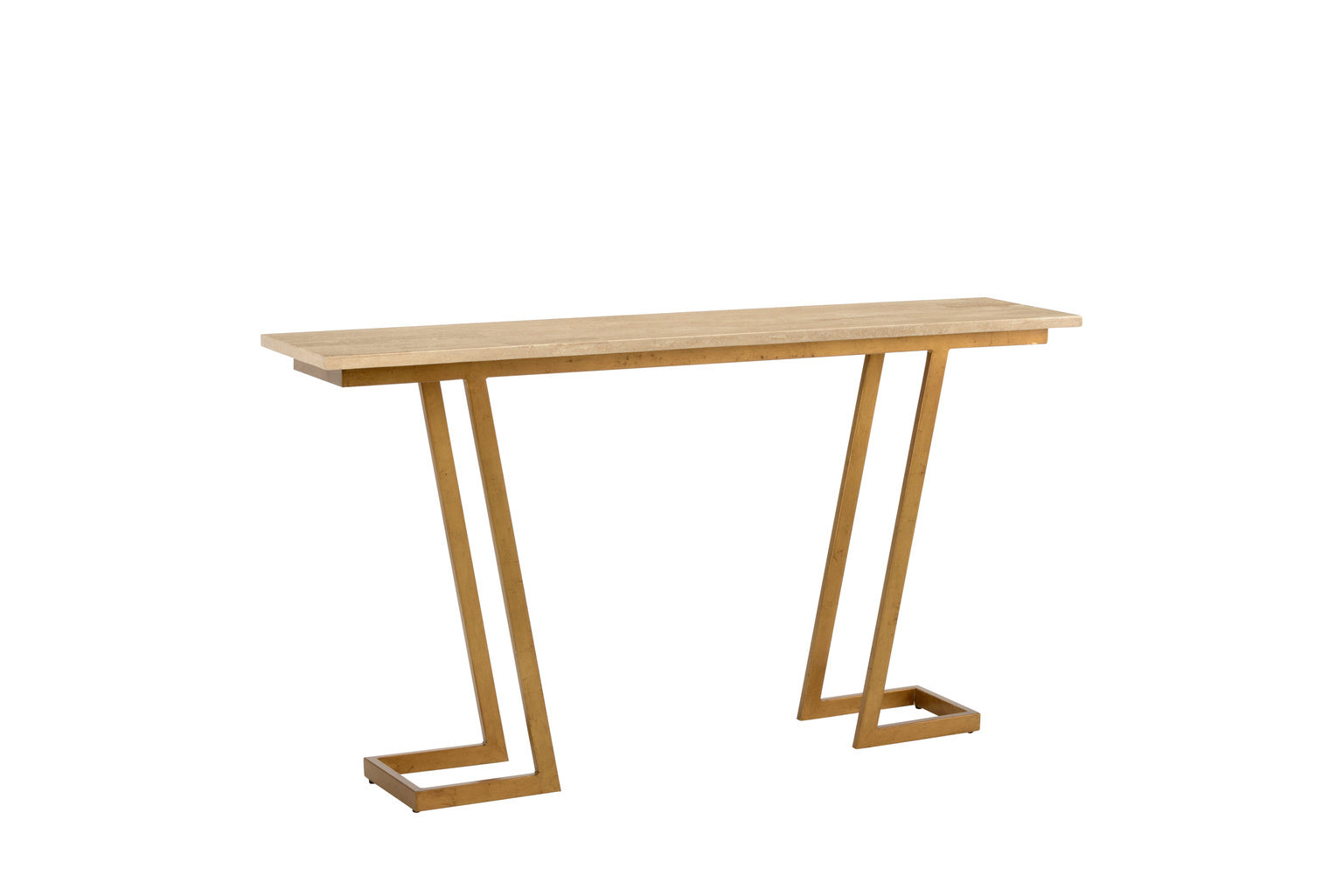 "Chelsea House ""Z"" Console Table - Gold 382458"
