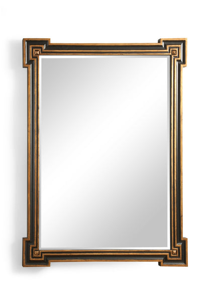 Chelsea House Richards Mirror -Black/Gold 380934