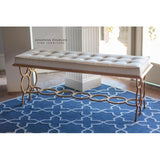 Lovecup Iron Circles Bench - LOVECUP