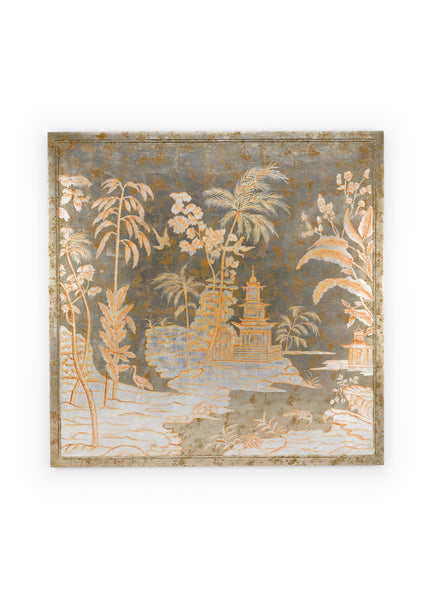 Chelsea House Chinoiserie Panel - Center 384353
