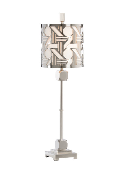 Wildwood Hutton Slim Lamp - Nickel 22420