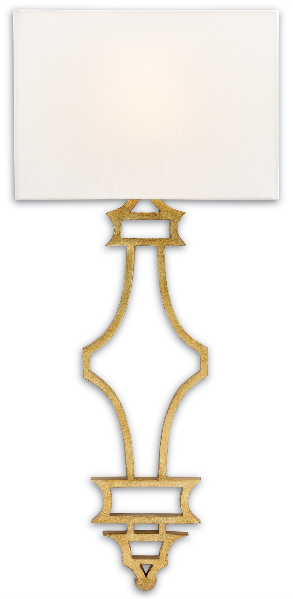Currey and Company Eternity Wall Sconce, Gold 5000-0030