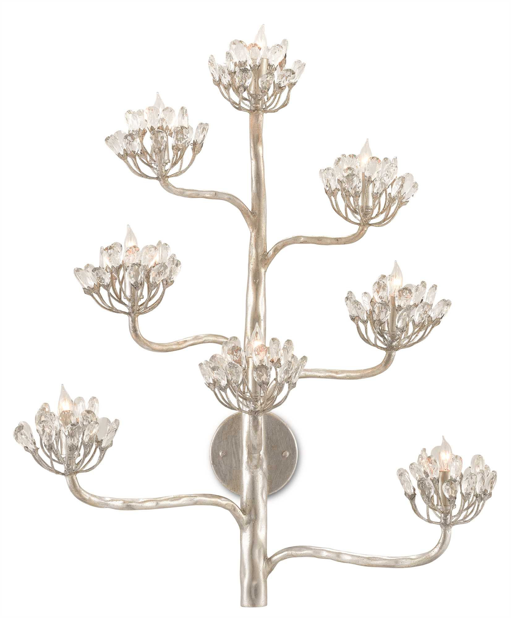 Currey and Company Agave Americana Wall Sconce 5000-0105