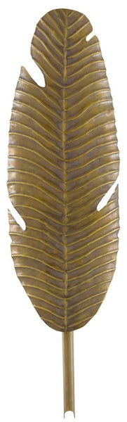 Currey and Company Tropical Leaf Wall Sconce  5000-0127