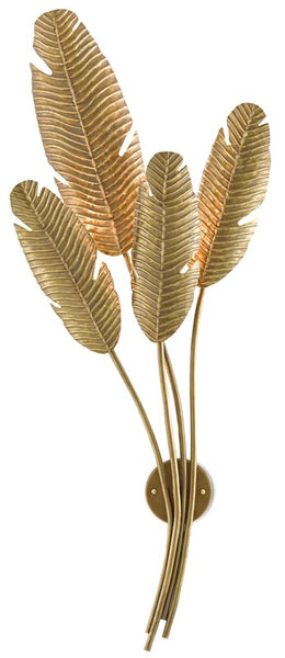 Currey and Company Tropical Wall Sconce 5000-0128