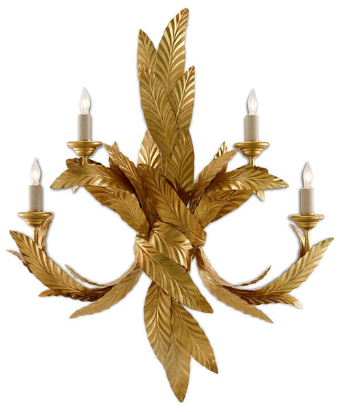 Currey and Company Apollo Wall Sconce 5000-0132