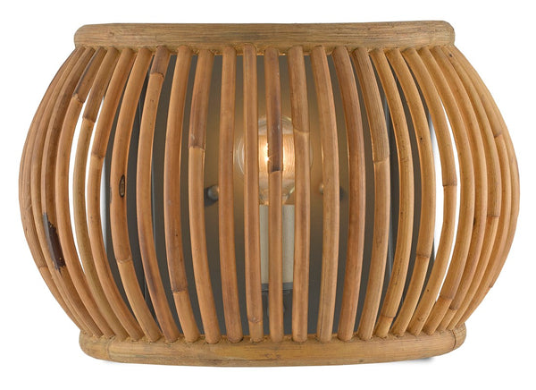 Currey and Company Africa Wall Sconce 5000-0135