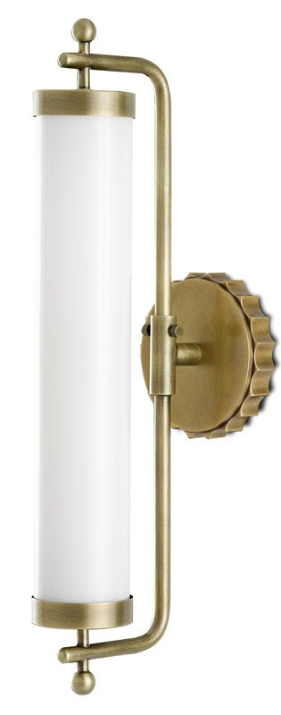 Currey and Company Latimer Brass Wall Sconce 5000-0141