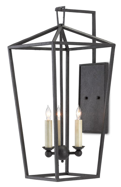 Currey and Company Denison Wall Sconce 5000-0169