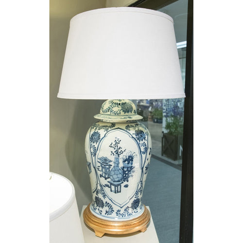 Lovecup Blue and White Classic Porcelain Table Lamp L058