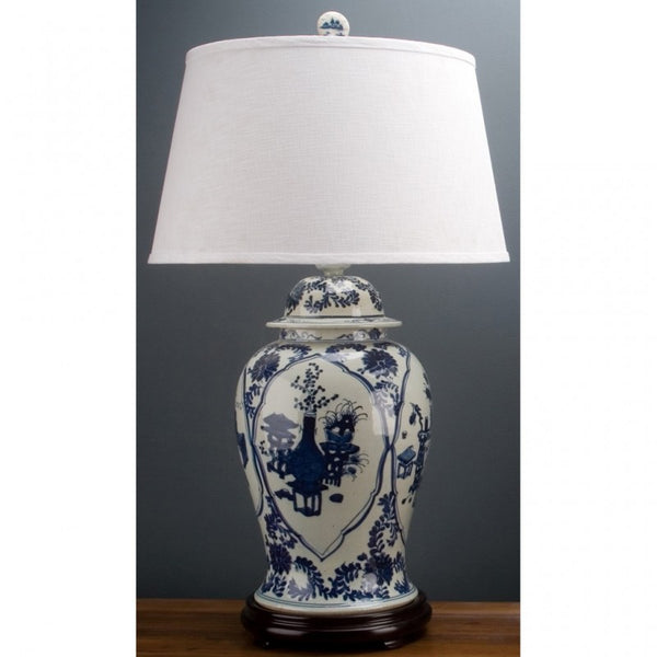 Lovecup BLUE AND WHITE LAMP L058