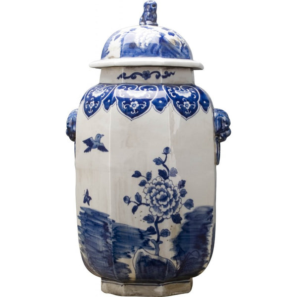 Lovecup HEXAGONAL LIDDED JAR L563
