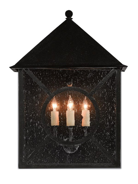 Currey and Company Ripley Large Outdoor Wall Sconce 5500-0002