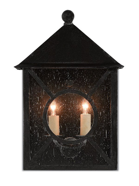 Currey and Company Ripley Medium Outdoor Wall Sconce 5500-0003
