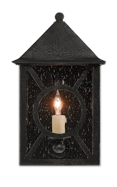 Currey and Company Ripley Small Outdoor Wall Sconce 5500-0004