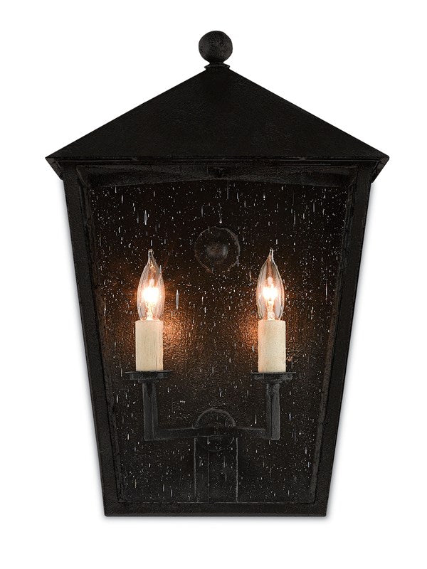 Currey and Company Bening Medium Outdoor Wall Sconce 5500-0011