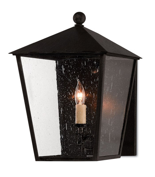 Currey and Company Bening Small Outdoor Wall Sconce 5500-0012