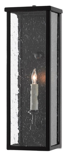 Currey and Company Tanzy Small Outdoor Wall Sconce 5500-0037