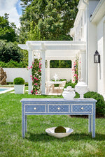 Chelsea House New London Console Blue 383001