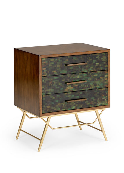 Lovecup Penshell Mid-Century Style Accent Chest L3973