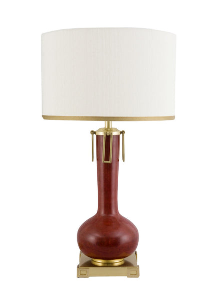 Wildwood Eden Lamp - Oxblood 65249