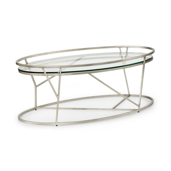 Chelsea House Mason Cocktail Table - Silver 382302