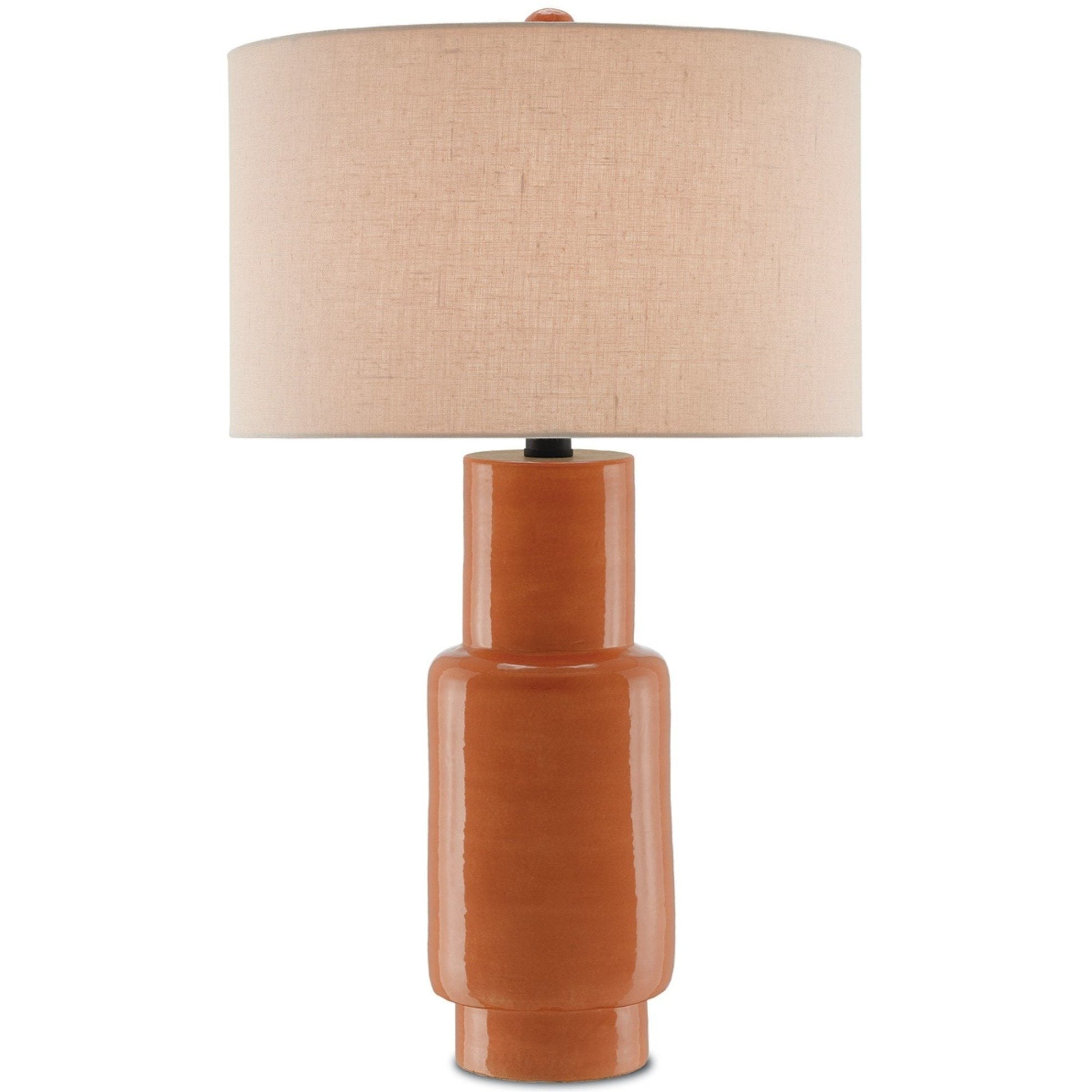 Currey and Company Janeen Table Lamp, Orange 6000-0192 - LOVECUP