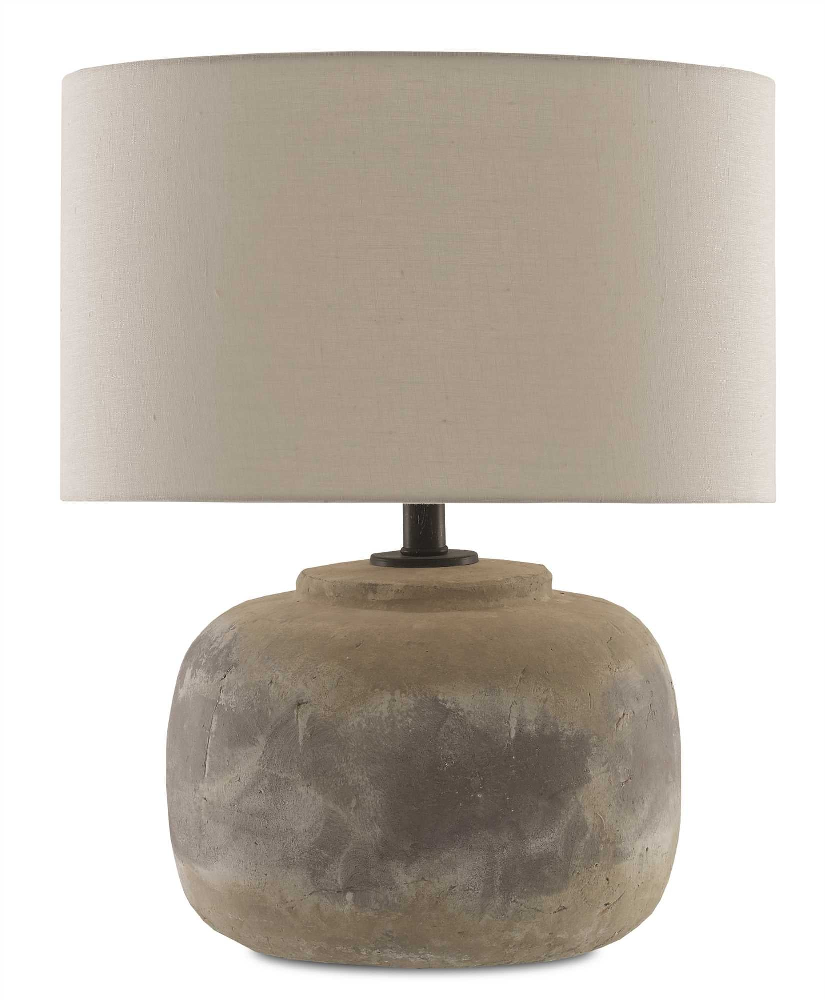 Currey and Company Beton Table Lamp 6000-0272