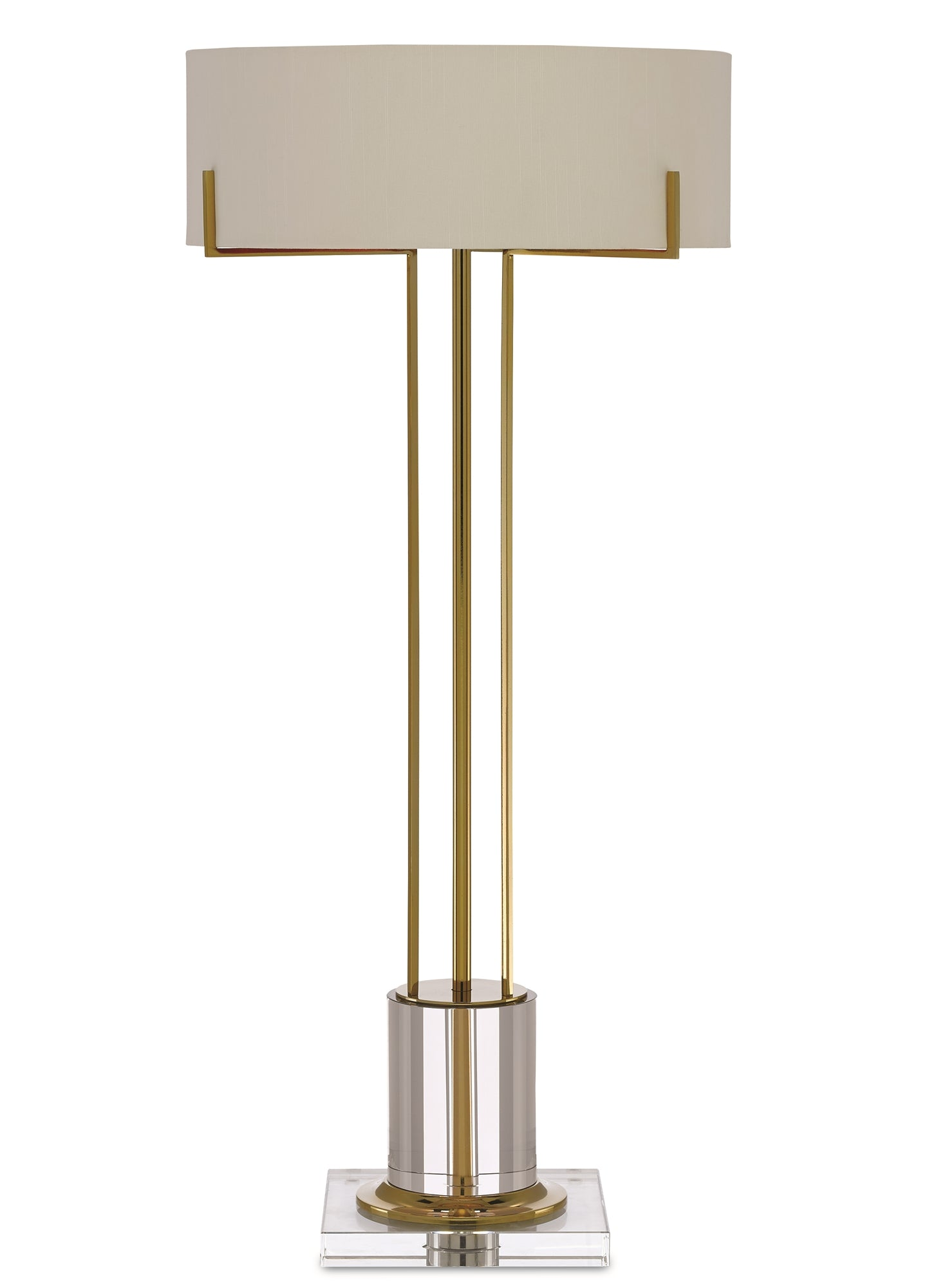 Currey and Company Winsland Brass Table Lamp 6000-0355