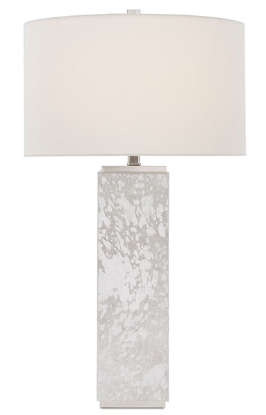 Currey and Company Sundew Nickel Table Lamp 6000-0525