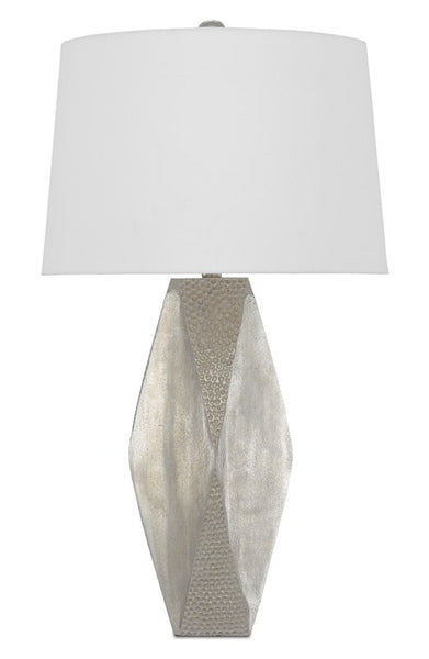 Currey and Company Zabrine Nickel Table Lamp 6000-0533