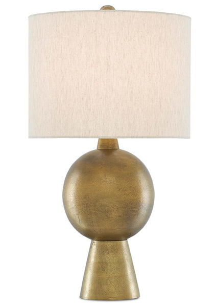 Currey and Company Rami Brass Table Lamp 6000-0535