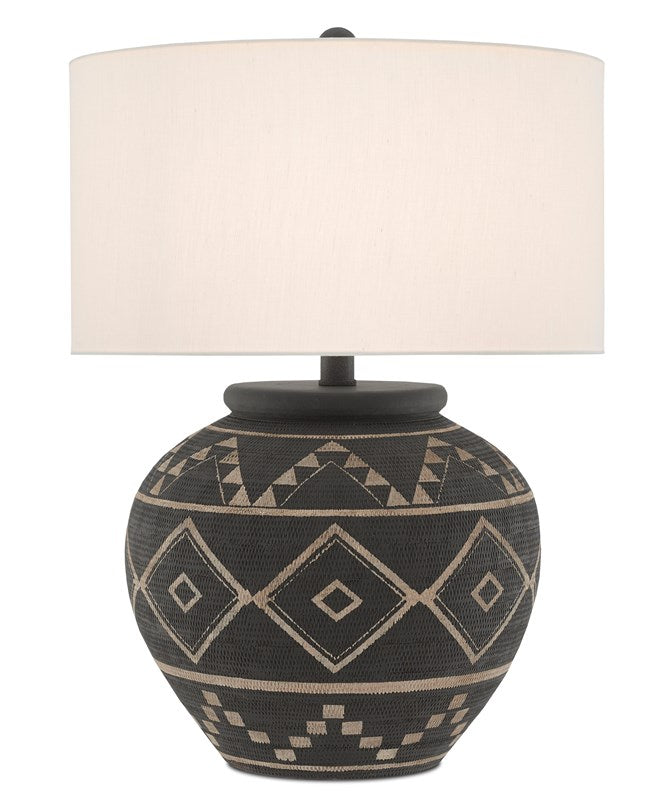 Currey and Company Tattoo Table Lamp 6000-0539