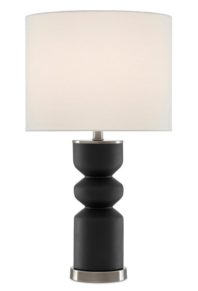 Currey and Company Anabelle Black Table Lamp 6000-0579